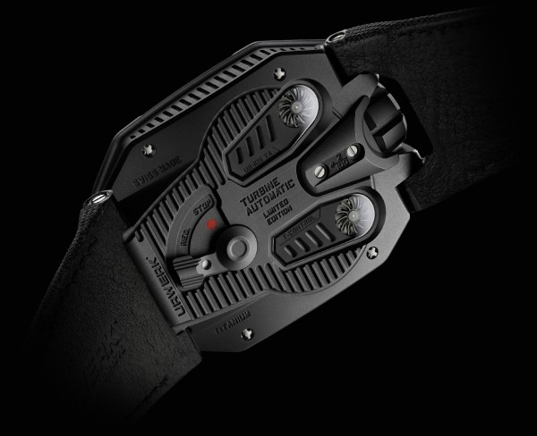 Urwerk UR 105 T-REX Watch Back