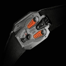 Urwerk UR-105TA Clockwork Orange Watch Case Back