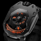 Urwerk UR-105TA Clockwork Orange Watch Dial