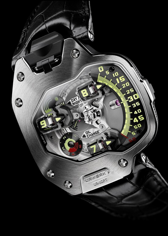 Urwerk UR-110 PT Watch Dial
