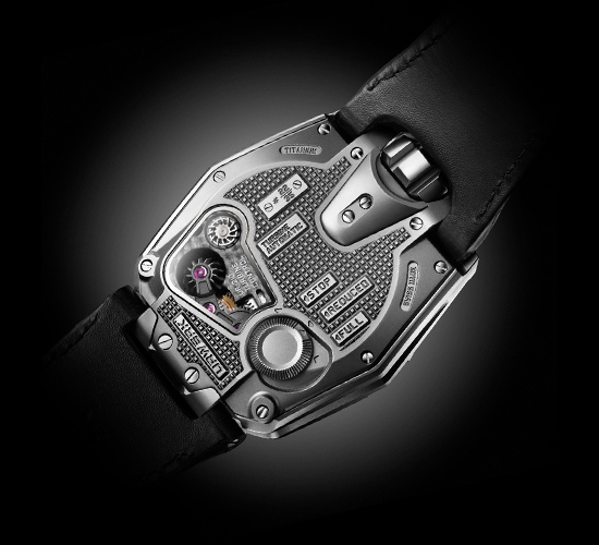 Urwerk UR-210 Watch Caseback
