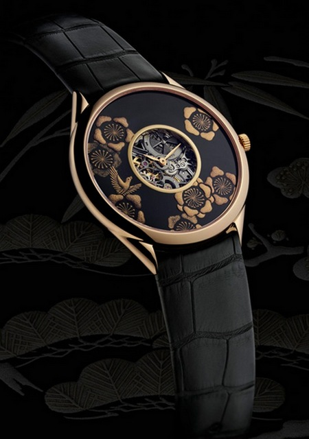 Vacheron Constantin Métiers d'Art La Symbolique Des Laques Plum Tree and Nightingale Watch