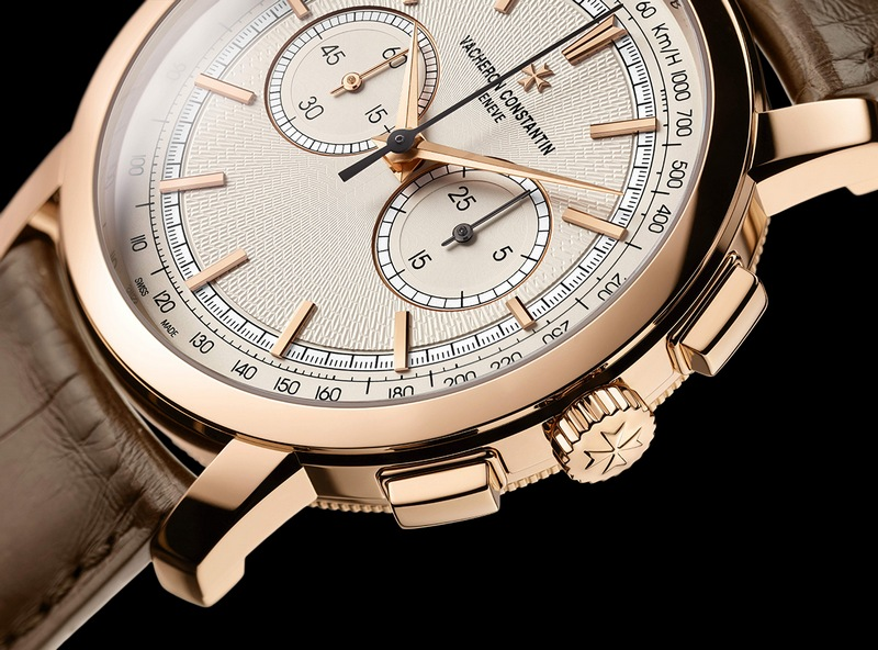 "Vacheron Constantin Patrimony Traditionnelle Chronograph ""Paris Boutique"" Watch Detail"