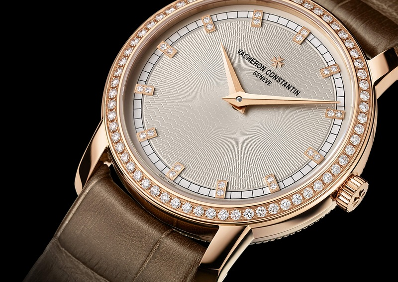"Vacheron Constantin Patrimony Traditionnelle ""Paris Boutique"" Small Model Diamond Watch Dial"