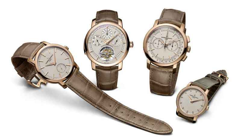 "Vacheron Constantin Patrimony Traditionnelle ""Paris Boutique"" Watches Collection"