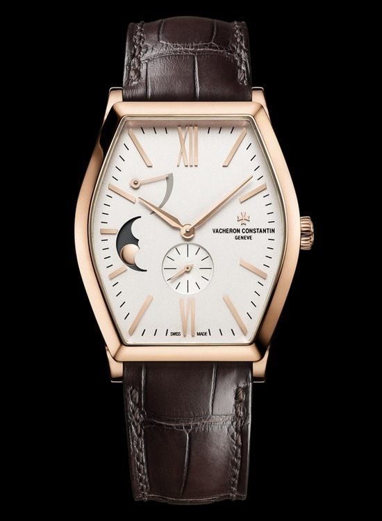 Vacheron Constantin Malte Moon Phase and Power Reserve Watch Front