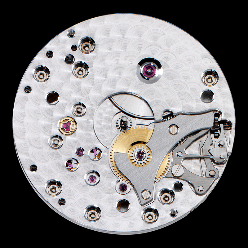 Caliber 1400AS Dial Side