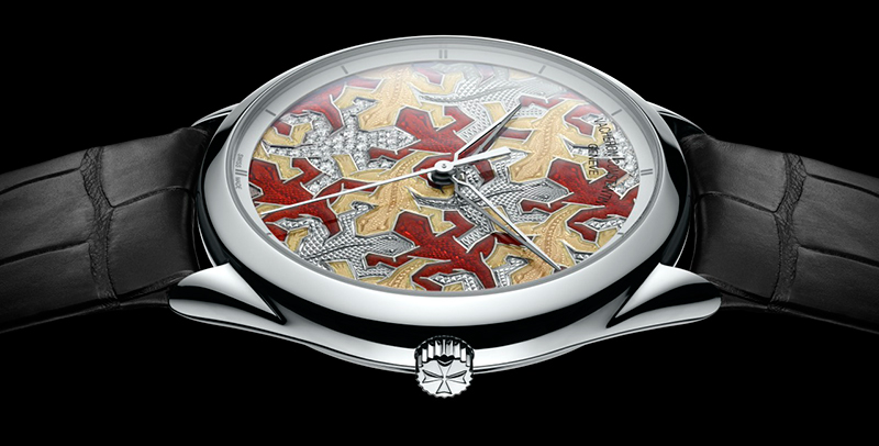 Vacheron Constantin Métiers d'Art Les Univers Infinis Lizard Watch Side