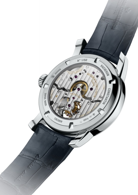 Vacheron Constantin Patrimony Traditionnelle 14-Day Tourbillon Watch Back