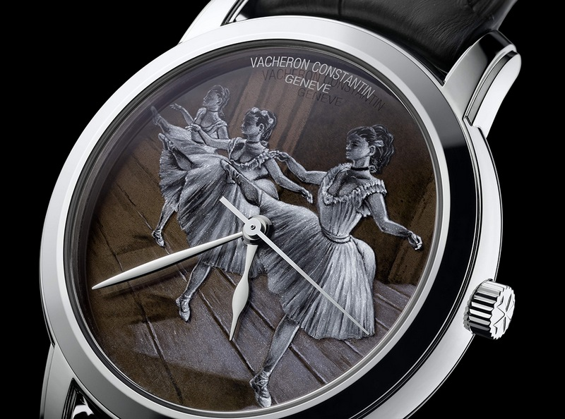 Vacheron Constantin Métiers d'Art the Rehearsal Watch Dial
