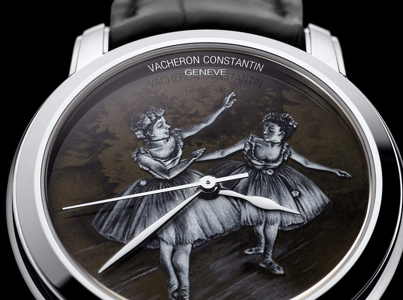 Vacheron Constantin Métiers d'Art Two Dancers on Stage Watch Dial