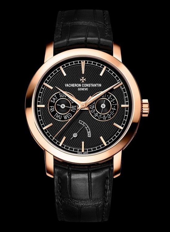 Vacheron Constantin Traditionelle Day Date And Power Reserve Watch Front