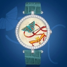 Van Cleef & Arpels Cerfs-Volants Extraordinary Dials Carmin  Watch