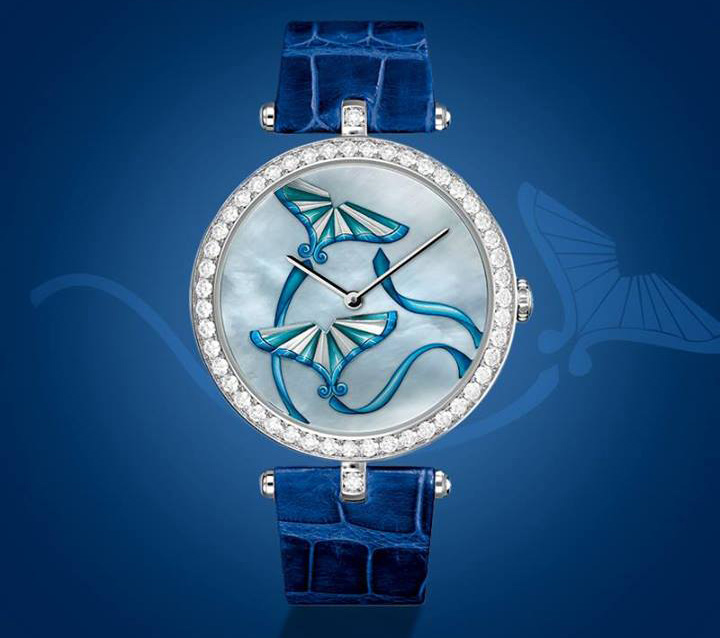 Van Cleef & Arpels Cerfs-Volants Extraordinary Dials Indigo Watch