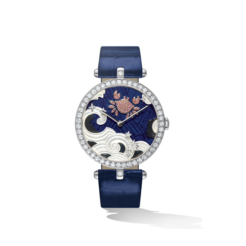 Van Cleef & Arpels Lady Arpels Zodiac Extraordinary Dials Cancer Watch