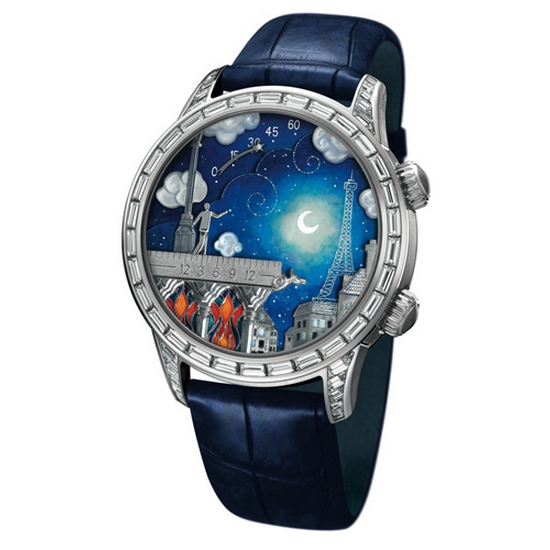 Van Cleef & Arpels Midnight Poetic Wish Watch