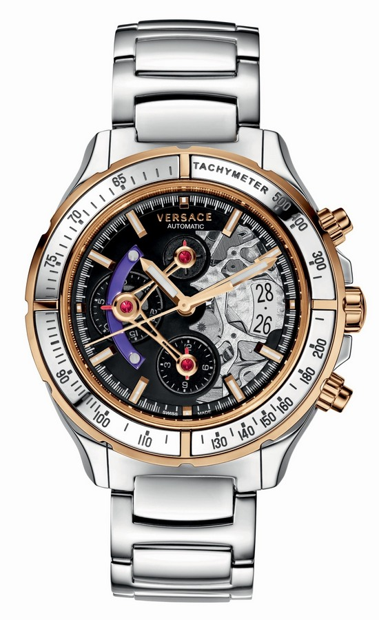 Versace DV One Skeleton Chronograph Watch