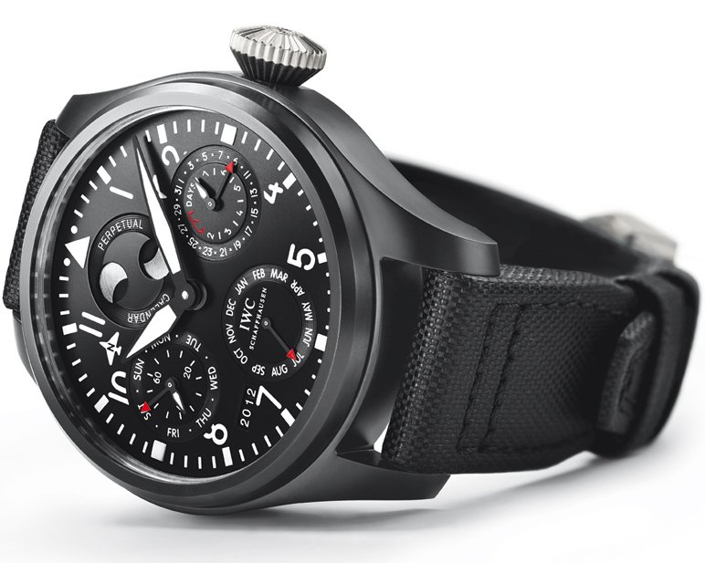 IWC Big Pilots Watch Perpetual Calendar Top Gun