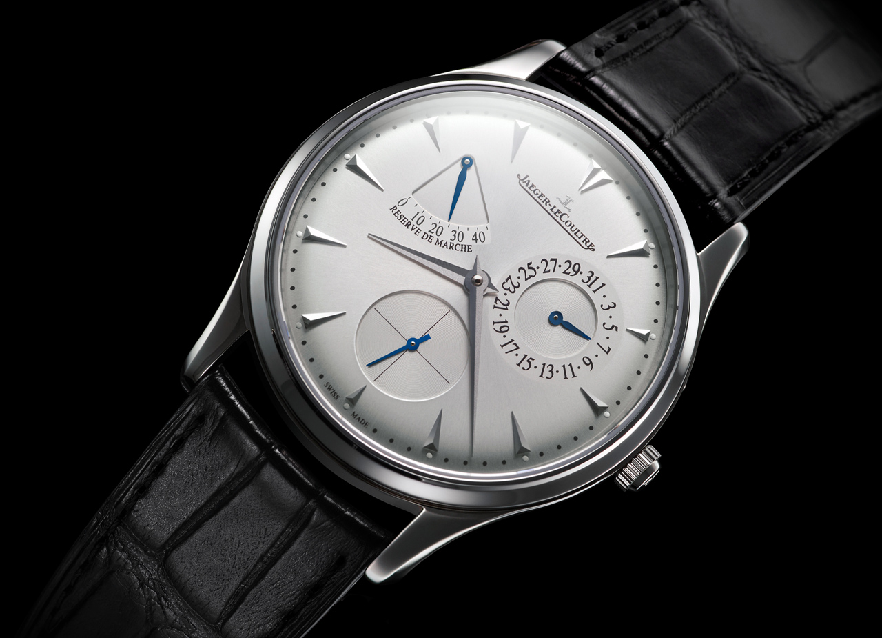 Jaeger LeCoultre Master Ultra Thin Reserve de Marche Watch