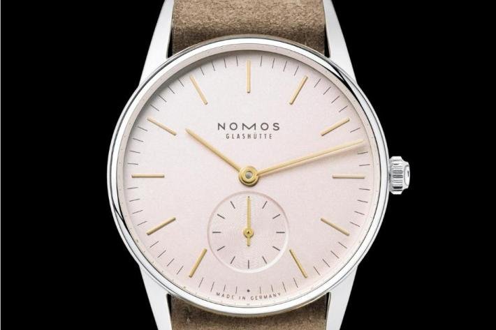 Nomos Glashutte Orion 33 Rose Watch