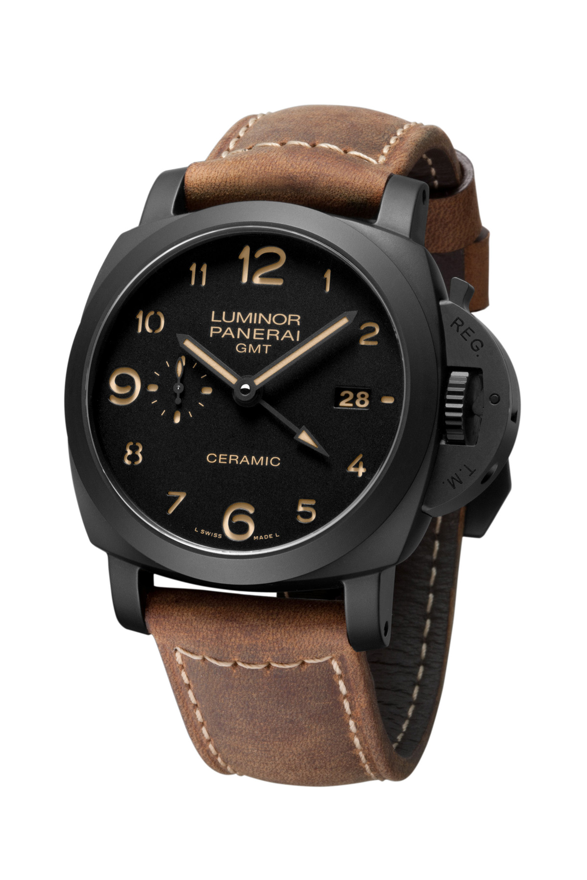 Panerai Luminor 1950 3 Days GMT Automatic Ceramica Watch