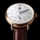 Bell & Ross Vintage WWI Heure Sautante Pink Gold Watch