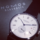 Nomos Glashutte Tangomat GMT Watch