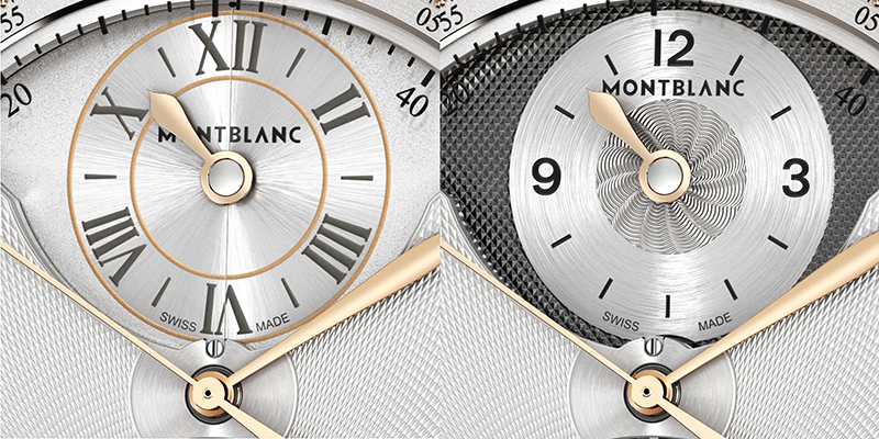 Montblanc Villeret 1858 Timewalker Metamorphosis II Watch Dial