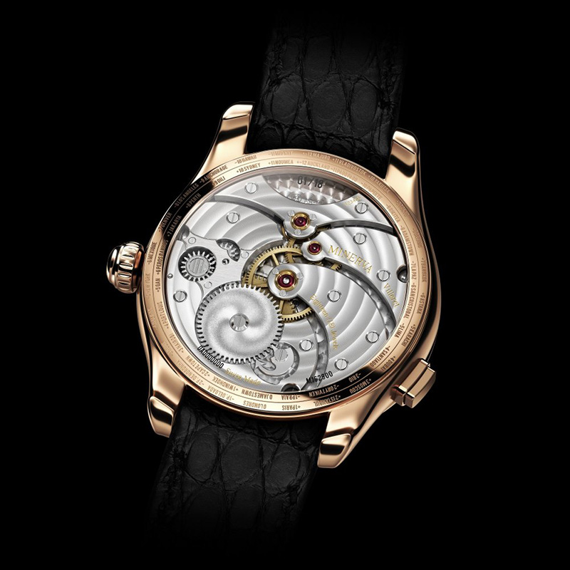 Montblanc Villeret Tourbillon Cylindrique Geoshperes Vasco Da Gama Watch Back