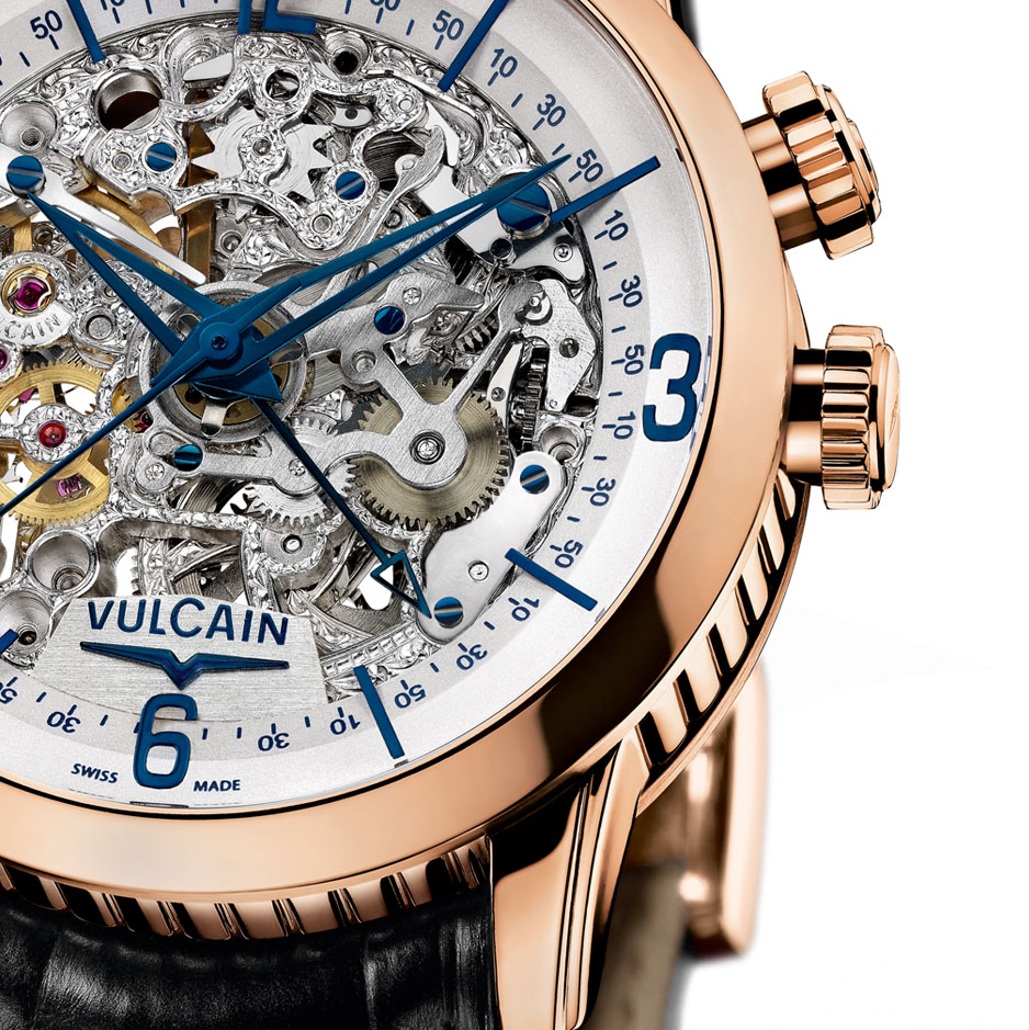 Vulcain Anniversary Heart Only Watch 2011 Detail