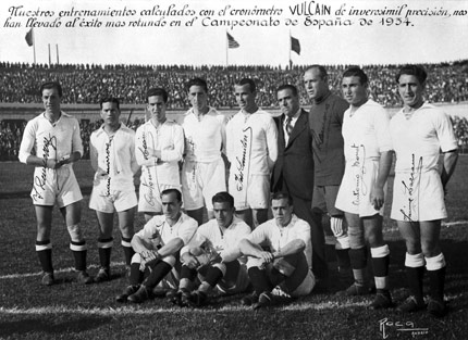 Real Madrid 1934 Vulcain