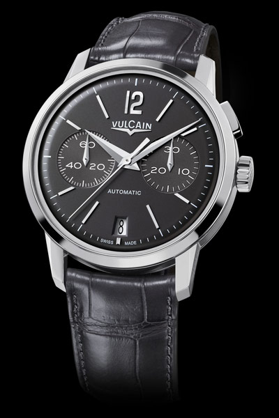Vulcain 50s Presidents' Chronograph Watch Gray