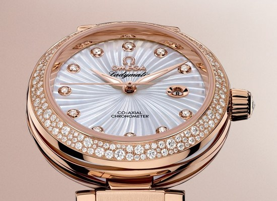 Omega De Ville Ladymatic Mother of Pearl Dial