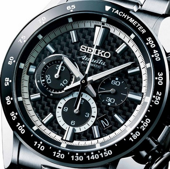 Seiko Ananta Automati Chronograph Tachymeter Scale