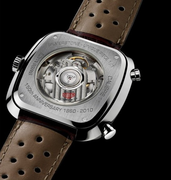 Tag Heuer Red Silverstone Calibre 11 Watch Caseback