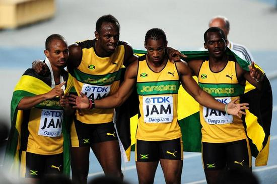 Jamaican 100m Squad