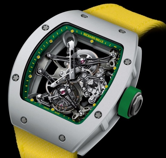 Richard Mille RM38 Tourbillon Watch