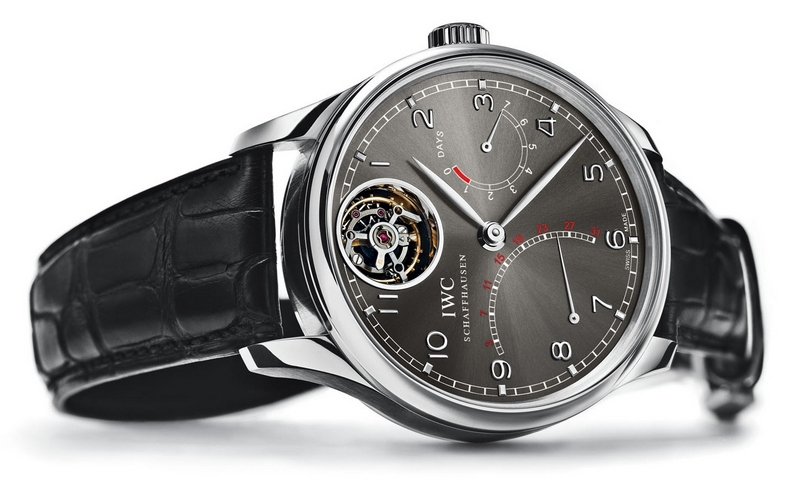 IWC Portuguese Tourbillon Mystère Retrograde Watch