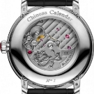 Blancpain Villeret Traditional Chinese Calendar Platinum Watch Caseback