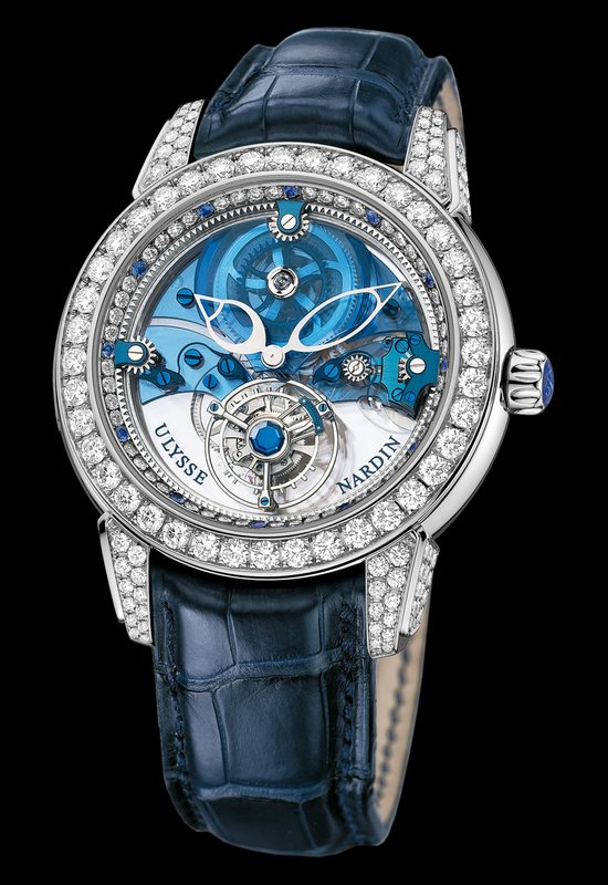 Ulysse Nardin Royal Blue Tourbillon Watch