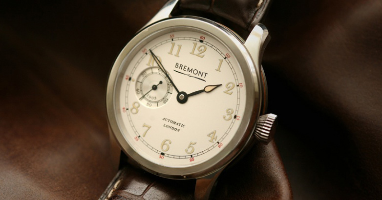 Bremont Wright Flyer Limited Edition White Gold Watch Case