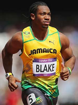 yohan blake runs his personal best with richard mille�s