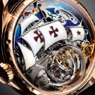 Zenith Academy Christophe Colomb Hurricane Grand Voyage Watch Back Details