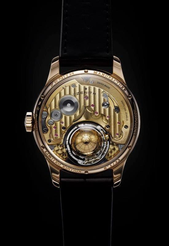 Zenith Academy Christophe Colomb Hurricane Watch Caseback