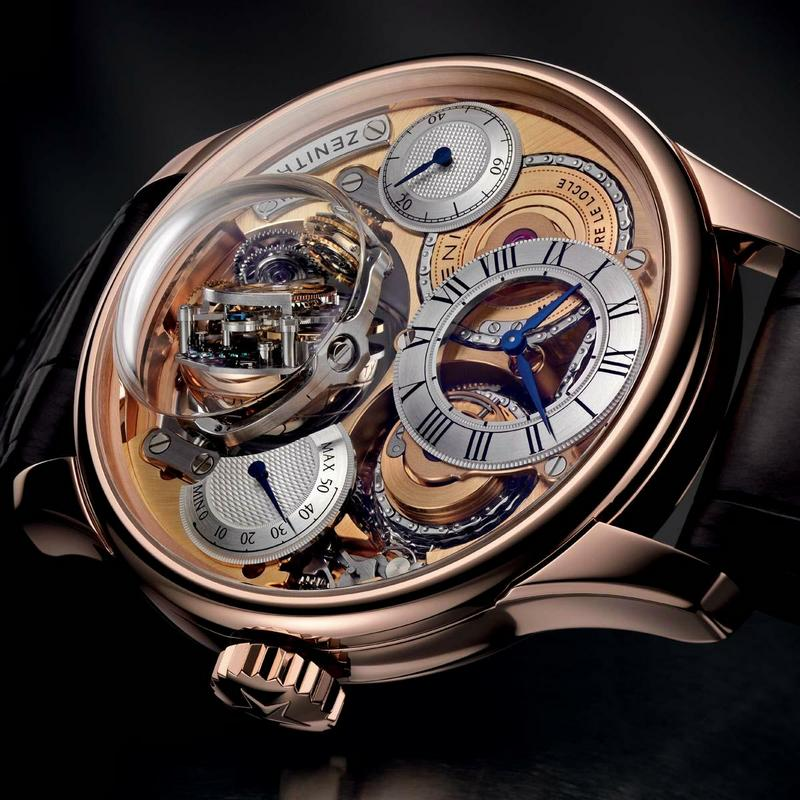Zenith Academy Christophe Colomb Hurricane Watch Dial