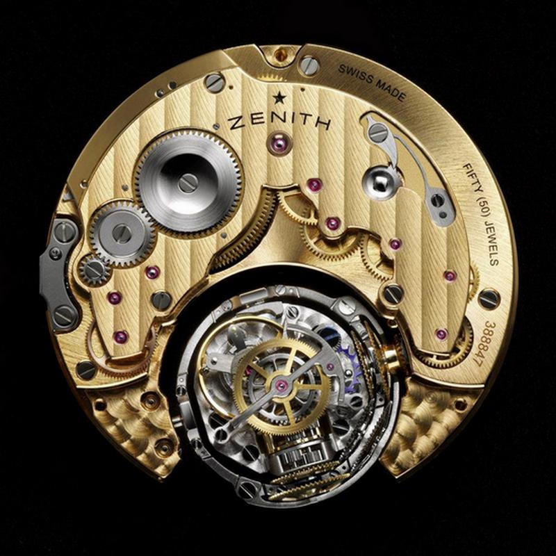 Zenith Academy Christophe Colomb Hurricane Watch El Primero 8805 Movement