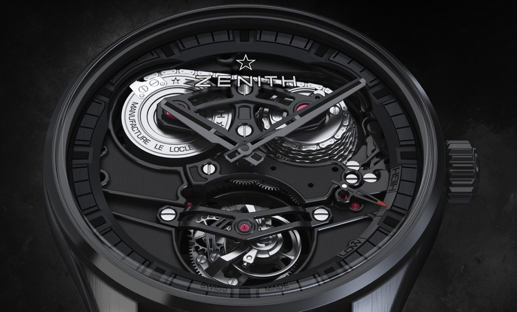 Zenith Academy Tourbillon Georges Favre-Jacot  Watch Dial