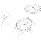 Zenith Elite 6150 Watch Sketches