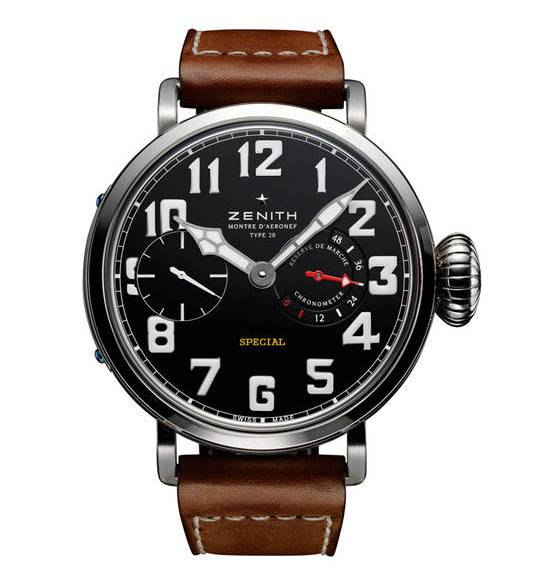 Zenith Pilot Montre d'Aéronef Watch