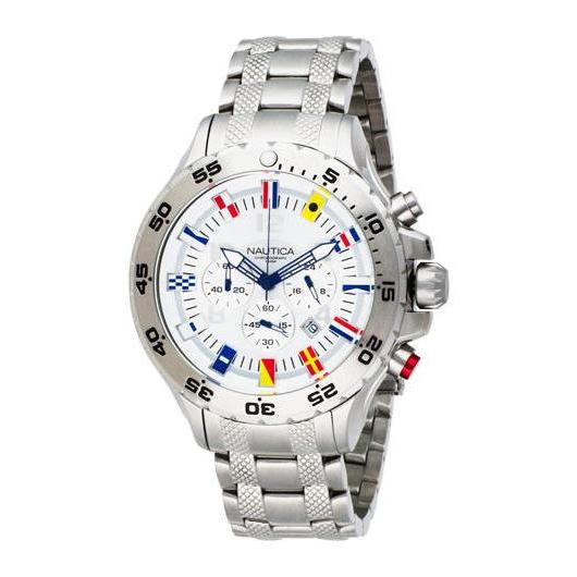 Nautica NST Chrono Flags